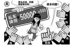 北京车牌出售价格